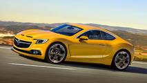 Opel GT production version render