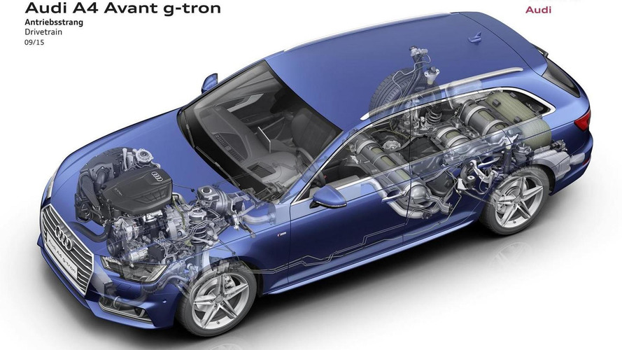 Audi talks about the CNG-compatible A4 Avant g-tron, on sale late 2016 [videos]