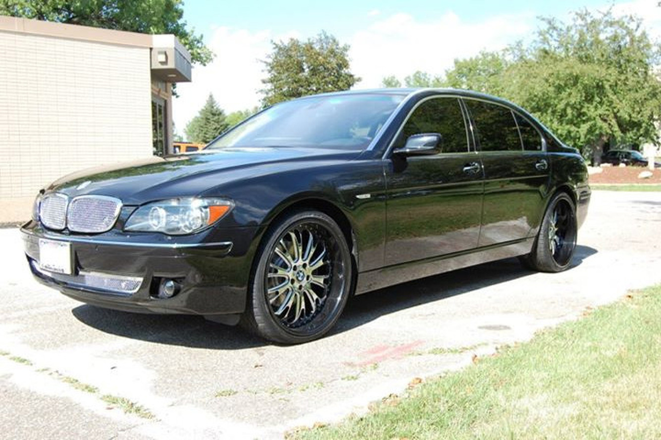 Is Adrian Peterson's Custom BMW 7-Series Pro-Bowl Status?