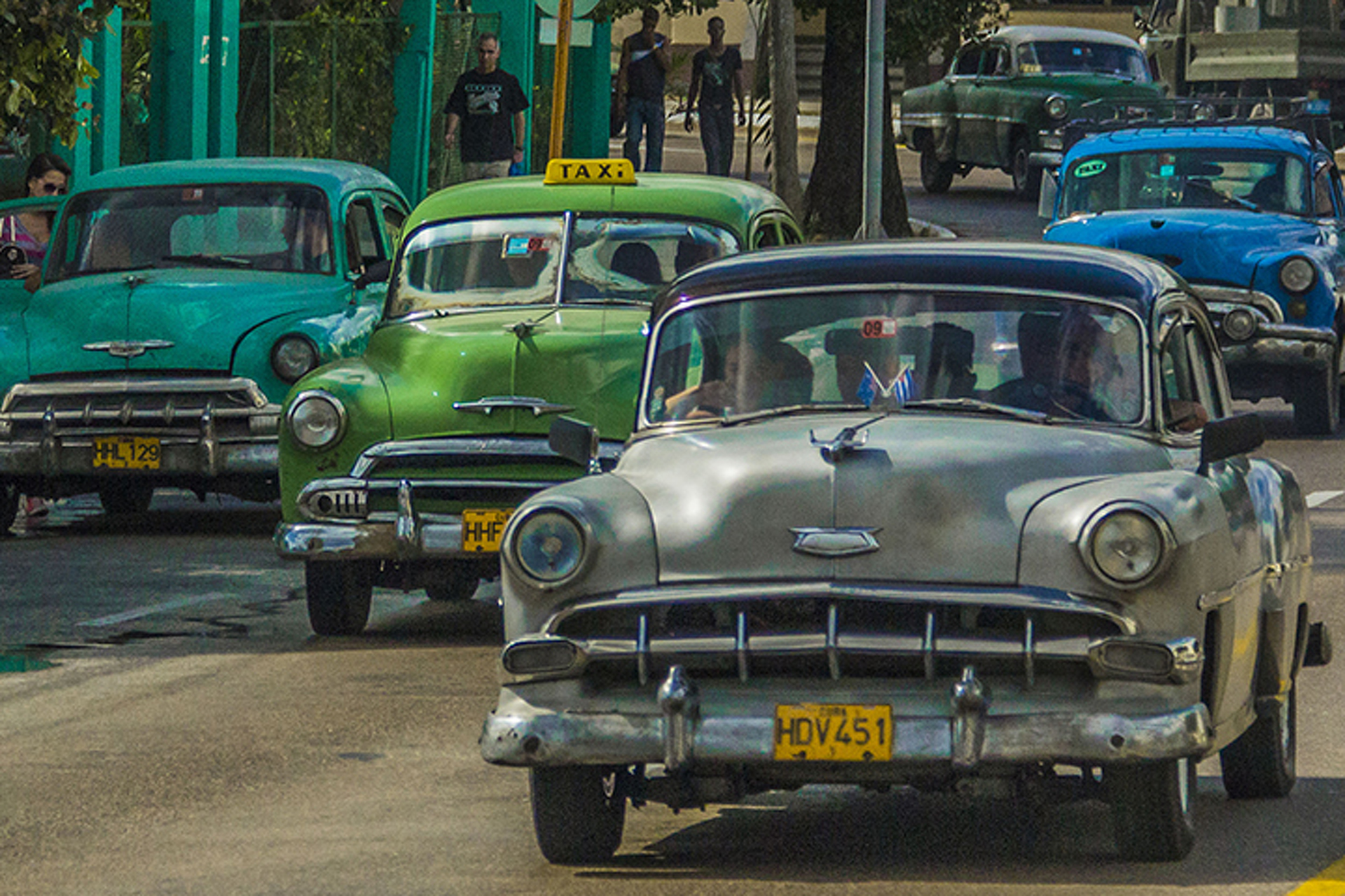 The myth of classic american cars in cuba for Old american cars