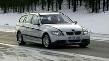 BMW E90 3 Series Touring spy photos