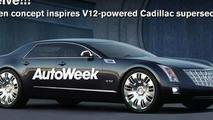 Cadillac Twelve rendering