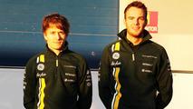 Charles Pic, Caterham and team mate Giedo van der Garde