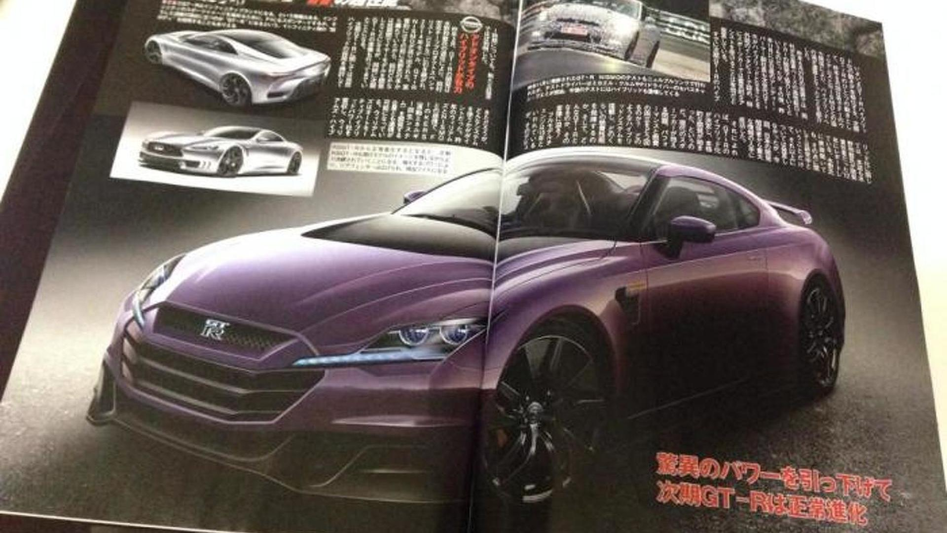 Next Gen Nissan Gt R To Have 800 Hp Report