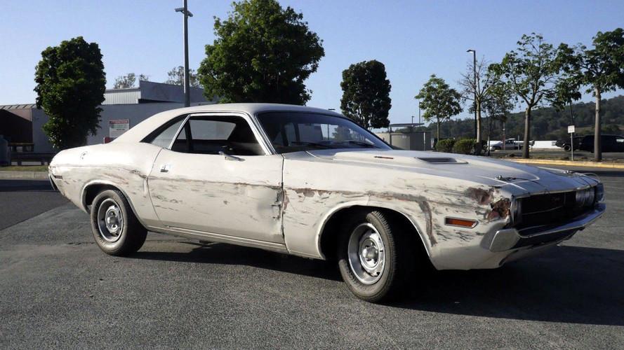 Quentin Tarantino's Death Proof Dodge Challenger Hits eBay