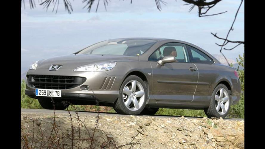 Peugeot 407 Coupé: Reisen in gediegenem Ambiente