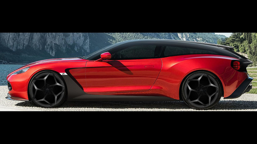 Aston Martin Vanquish Zagato Speedster, Shooting Brake Debut