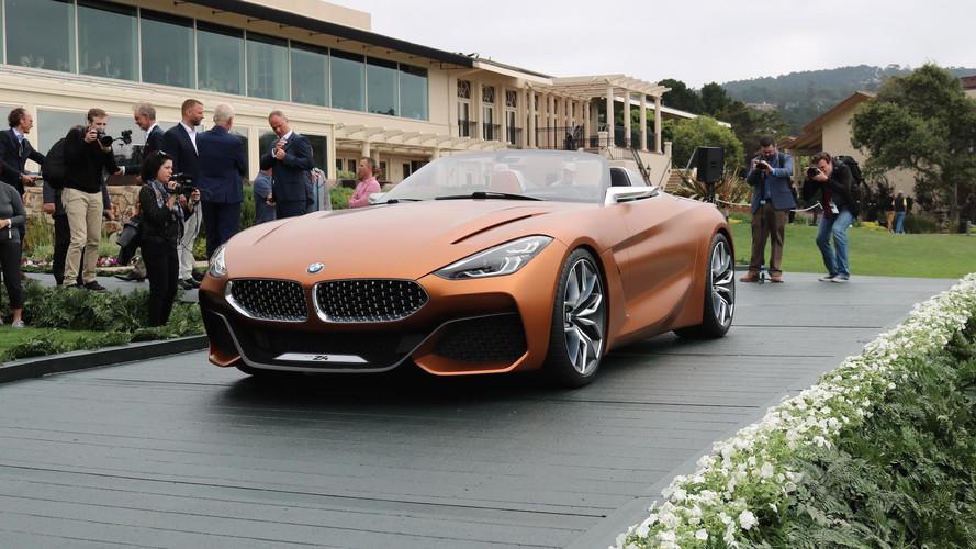PHOTOS - Les futurs BMW Z4 et Série 8 sous le soleil de Pebble Beach