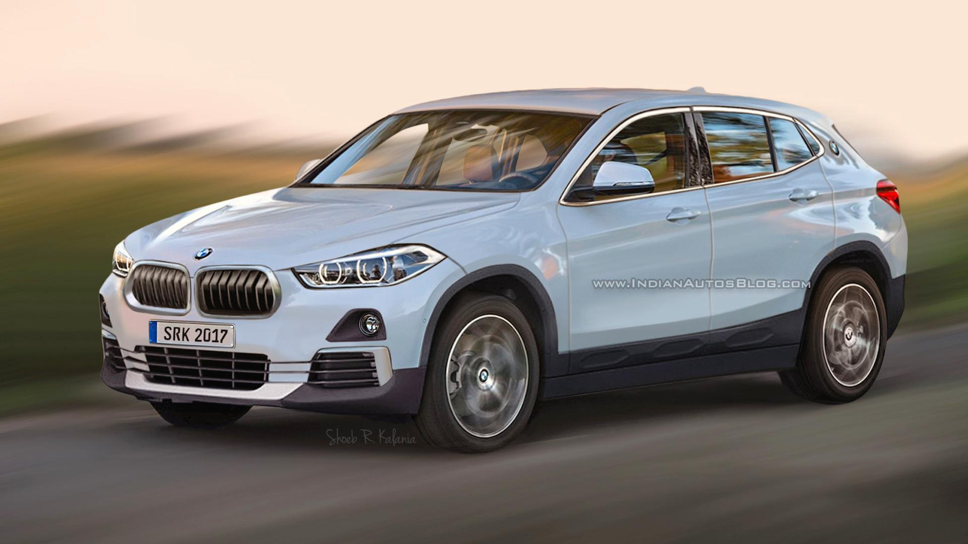 2018 bmw x2 rendered with production ready cues. Black Bedroom Furniture Sets. Home Design Ideas