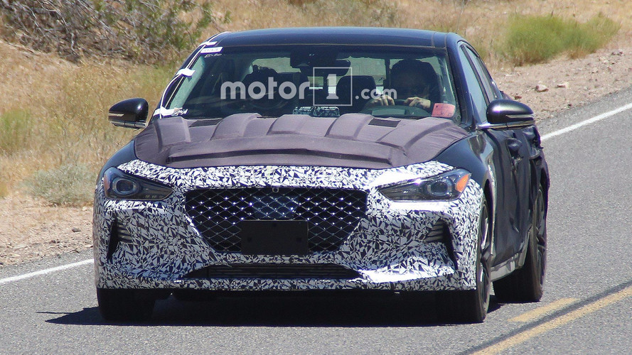 Genesis G70 Spotted Uncovered, Debut September 15th [UPDATED]