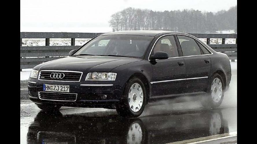 Audi A8 3.0 TDI quattro: Von neuem Diesel richtig beflügelt