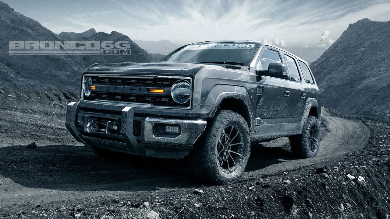 White Ford Explorer >> 2020 Ford Bronco Will Have Four Doors And 325 HP