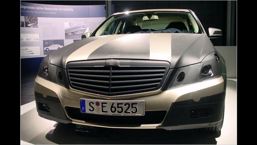E-volution: Ein erster Blick auf die neue Mercedes E-Klasse
