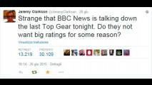Top Gear, l'ultimo episodio dell'Era Clarkson