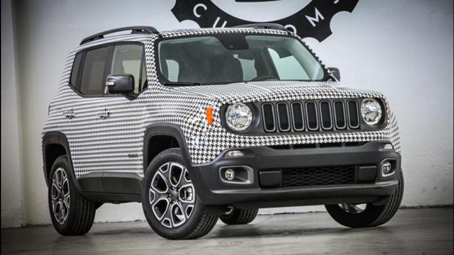 Jeep Renegade, in pied de poule per beneficenza