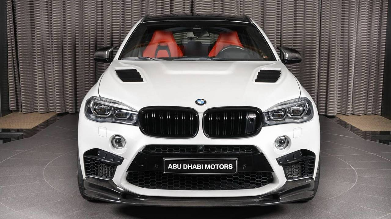 BMW X6 M with 3D Design kit