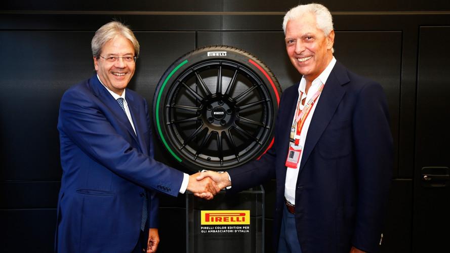 Pirelli, una gomma tricolore per Gentiloni