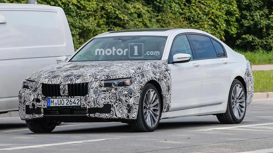 BMW Spied Testing Refreshed 7 Series In Germany