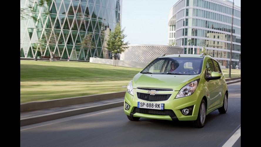 Chevrolet Spark GPL: in promozione da 8.350 euro