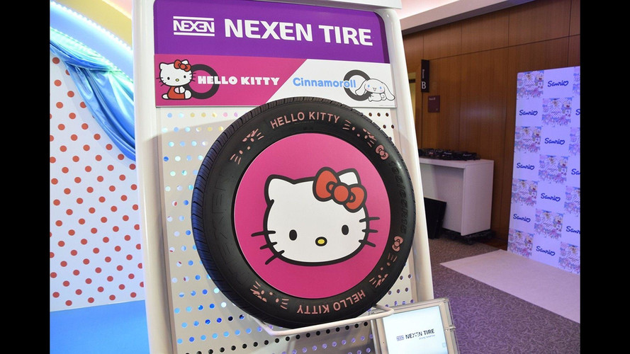 Why Wouldn't You Fit Your Car With Hello Kitty Tires?