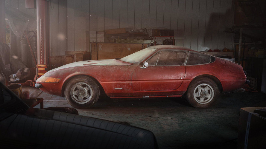 Ferrari Daytona 'Alloy' Barn Find Brings $2.1M At Auction [UPDATE]