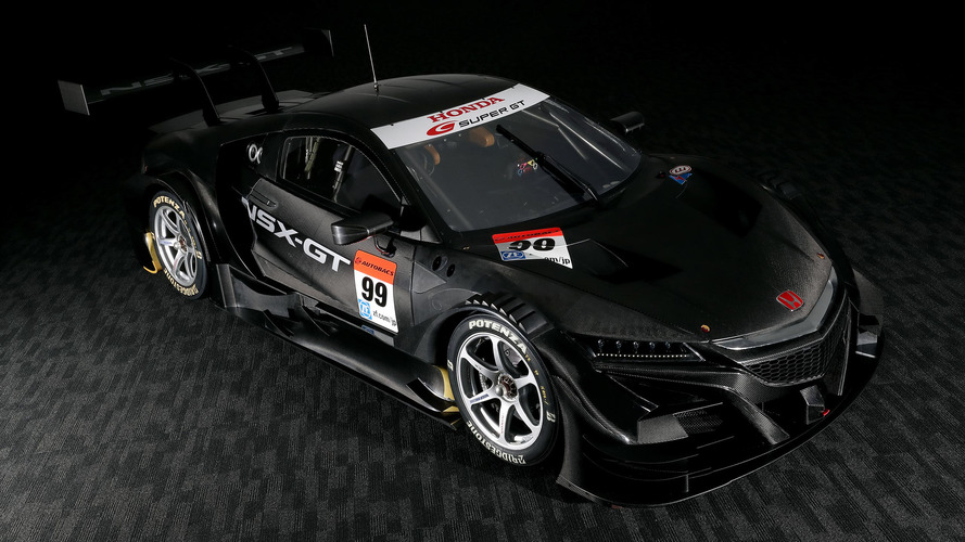 Mean-looking Honda NSX-GT ready for battle in Super GT series