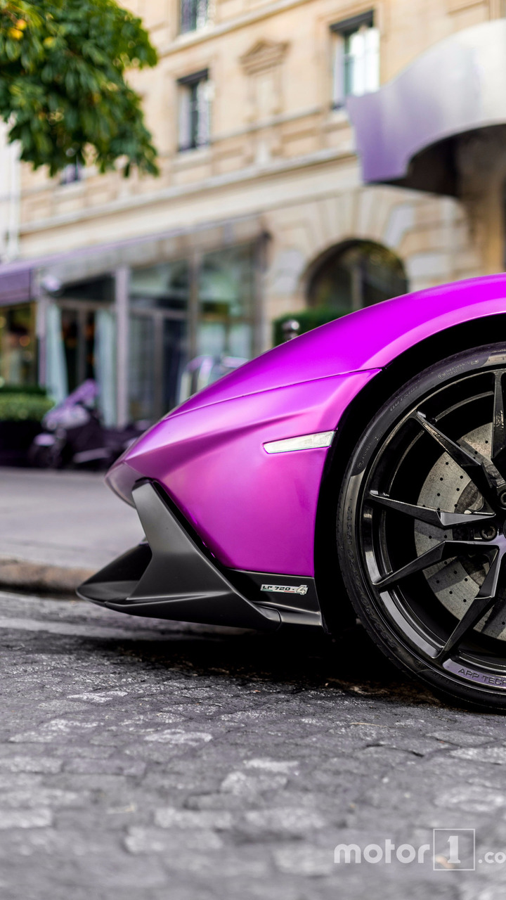 KVC Lamborghini violette
