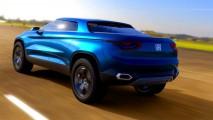 Buenos Aires: em nova cor, conceito avisa que picape Fiat pode ficar para 2016