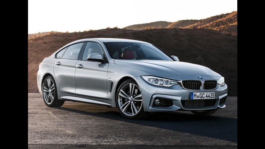 BMW Série 4 Gran Coupé passa a ser vendido em versão 430i por R$ 276.950