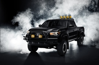 Toyota Recreates Marty McFly's 4x4 from