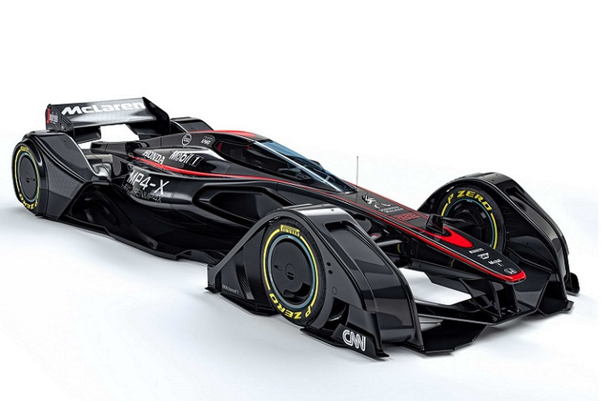 McLaren MP4X Is a Formula 1 Car From the Future