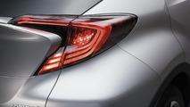 2016 Toyota C-HR production version