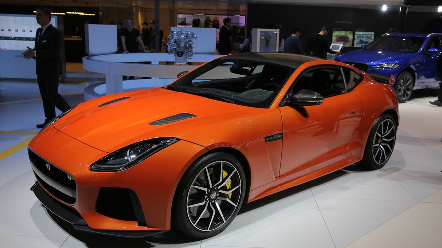 Jaguar F-Type SVR roars into Geneva with 200 mph