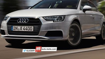 2016 Audi A4 speculatively rendered inside and out