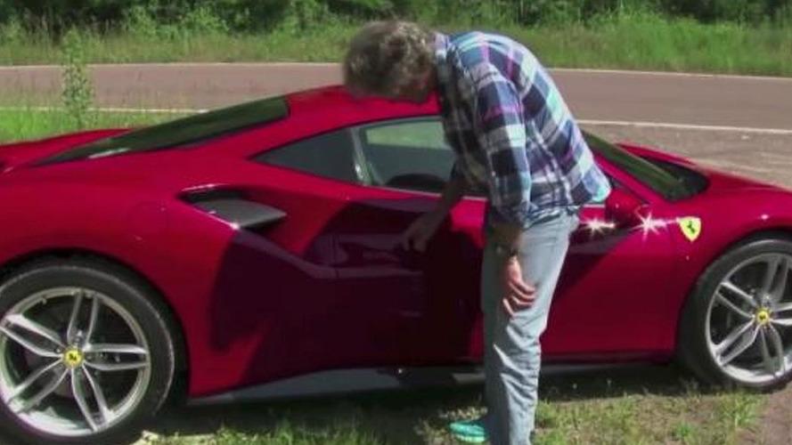 James May test drives the new Ferrari 488 GTB [video]