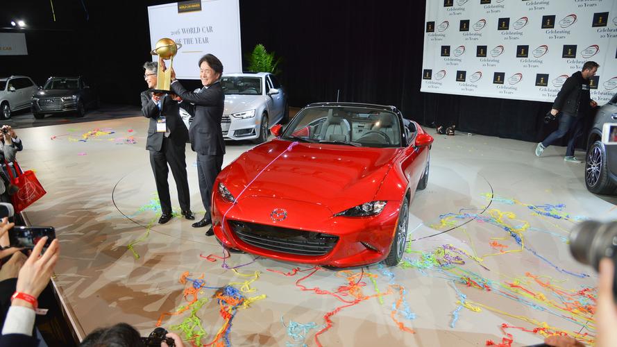 Mazda MX-5 Miata 2016 yılının otomobili seçildi