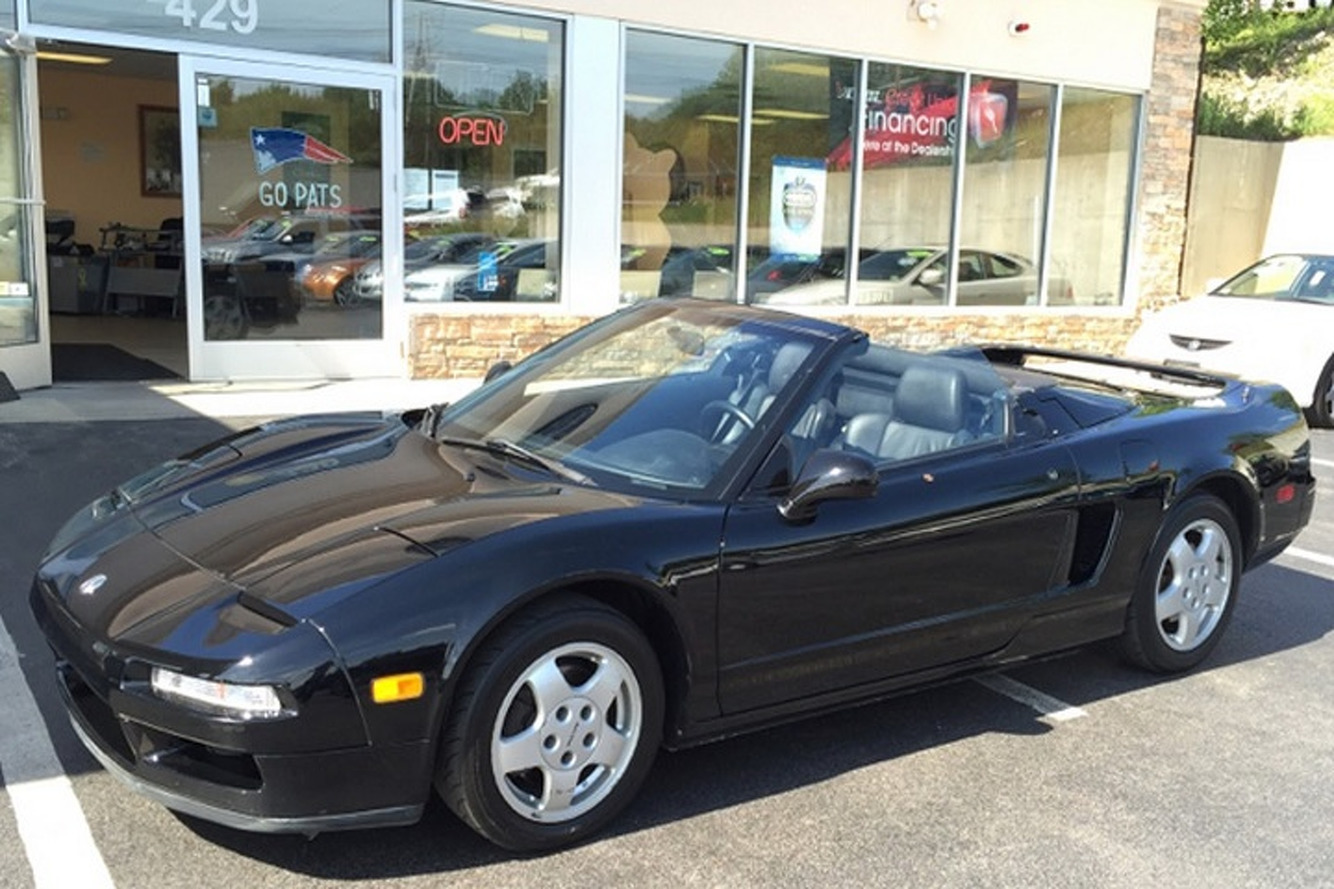 This Acura NSX Has No Top and a $50K Price Tag