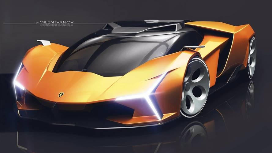 Lamborghini Concepto X tasarım yorumu gelecek modelleri işaret ediyor