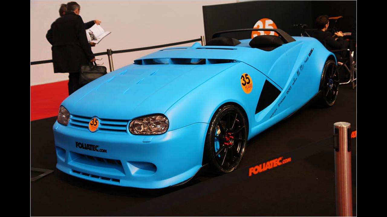 Foliatec VW Golf Speedster