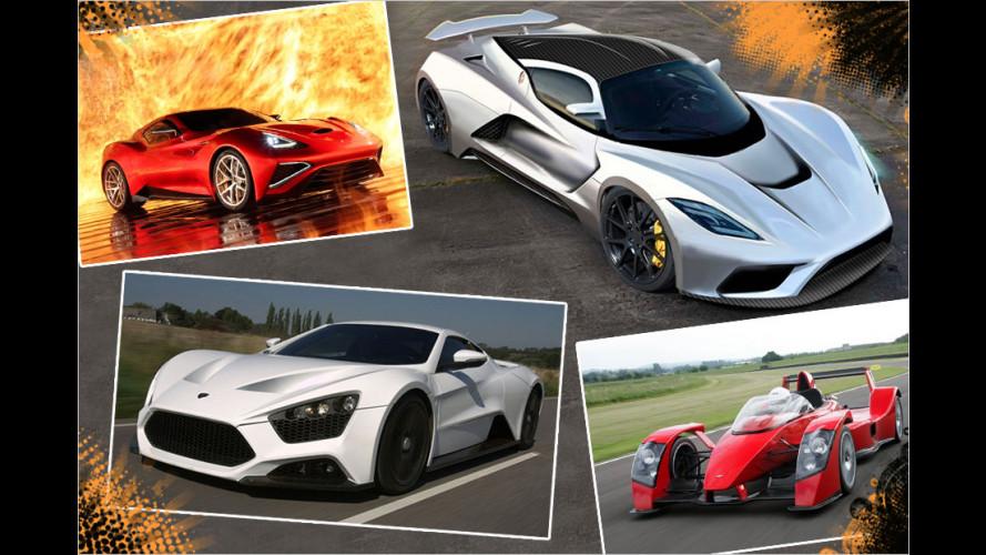 Selten, teuer, leistungsstark: Die Machthaber in der Sportwagenwelt