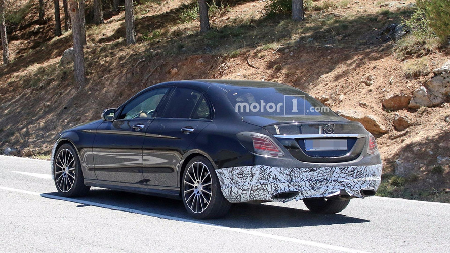 Mercedes-Benz C-Class Spy Shots