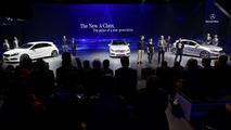 2013 Mercedes A-class live in Geneva 06.03.2012