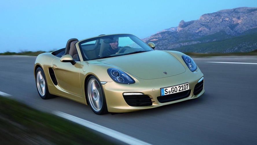 2013 Porsche Boxster launched in the UK, pricing announced