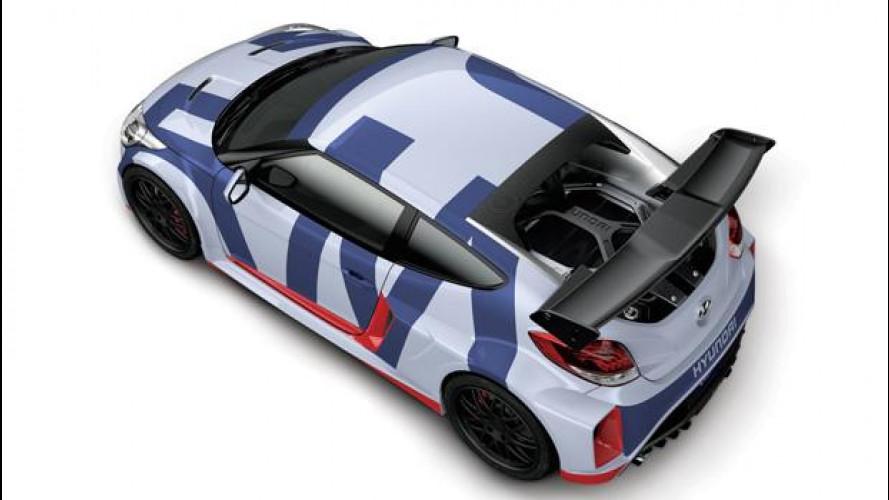 Hyundai Veloster Midship, concept a motore centrale