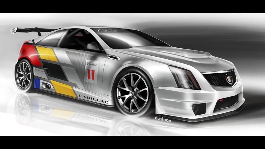 Cadillac torna alle corse con la CTS-V Coupé