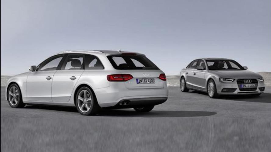 Audi A4 Ultra e A5 Ultra, nuove motorizzazioni per risparmiare