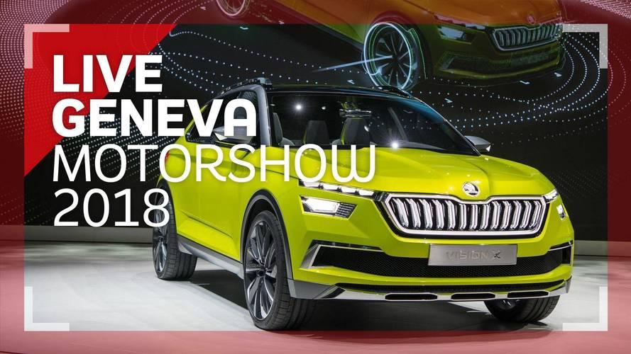 Genève 2018 - Le Škoda Vision X en vidéo