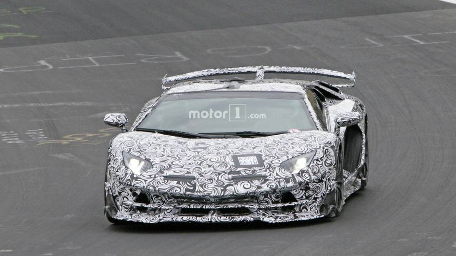 Lamborghini Aventador SV Jota al Nurburgring