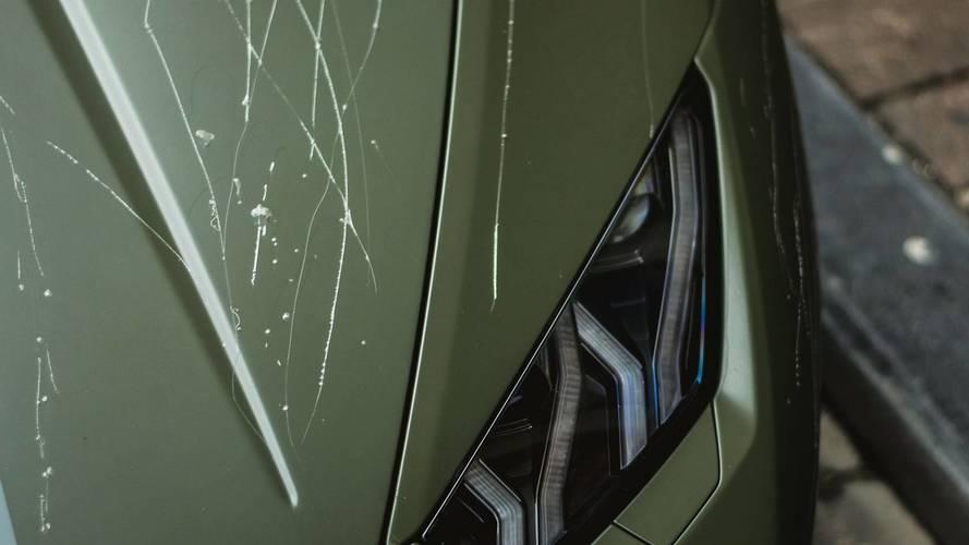 Lamborghini Huracán Avio rayado en Bélgica