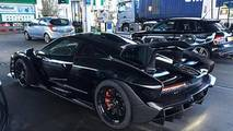 McLaren Senna spotted at petrol station